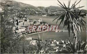 Modern Postcard Monaco Monte Carlo View to