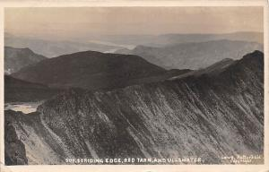 England Striding Edge, Red Tarn, and Ullswater 1913
