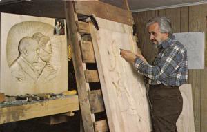 ST-JEAN PORT-JOLI , Quebec , Canada , PU-1985 ; Pierre Labelle , Sculpteur