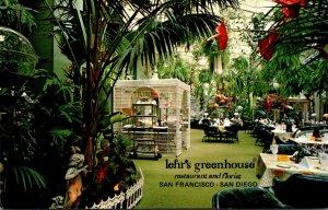California San Francisco Lehr's Greenhouse Restaurant and Florist