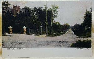 Rosedale Toronto Canada Vintage Postcard