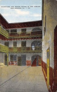Courtyard and Prison Rooms in the Cabildo New Orleans, Louisiana, USA Unused
