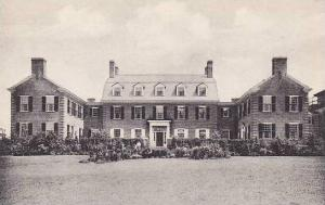 New Hampshire Hanover Dick Halls House Dartmouth College Albertype