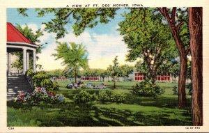 Iowa Fort Des Moines General View