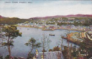 OBAN From Pulpit Hill, Boats, OBAN, Scotland, UK, 1900-1910s