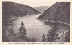 New Mexico Raton Eagle Nest Dam And Lake Cimarron Canyon On Raton Taos Highwa...