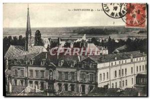 Postcard Old Saint Dizier The College