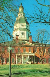 Postcard State House Annapolis Maryland