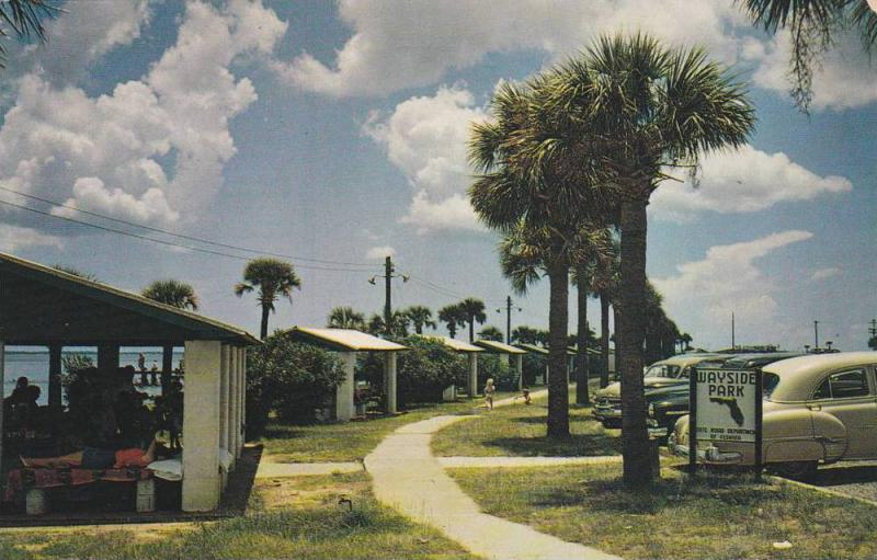 Wayside Park, at North end of Pensacola Bay Bridge, Pensacola, Florida,40-60s