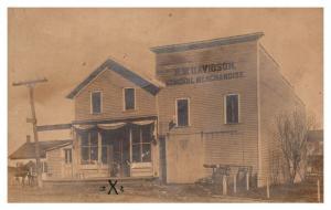 OHIO Perrysville,   R.W.Davidson,  General Merchandise store  RPC