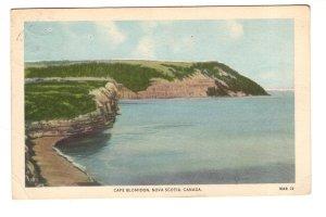 Cape Blomidon, Nova Scotia, Used 1947