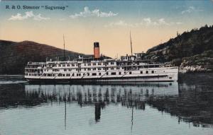 R.&O. Steamer SAGUENAY , Quebec , Canada , 00-10s