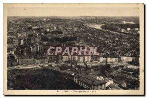 Old Postcard Lyon General view