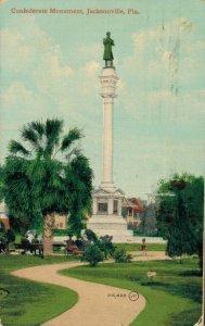 USA Florida Jacksonville Confederate Monument 04.33