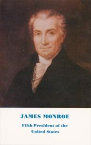 James Monroe 5th President Of The United States
