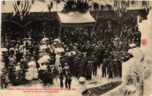 CPA REIMS Fetes de l'Inauguration de la Fontaine Sube (15 Juillet 1906 (742935)