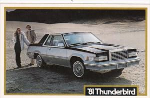 Advertising 1981 Ford Thinderbird John Grappone Ford Bow New Hampshire