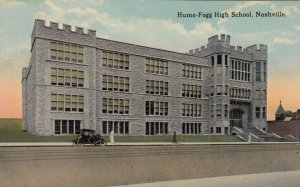 NASHVILLE , Tennessee, 1900-10s ; Hume-Fogg High School