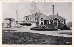 Red Creek Canning Company Red Creek New York