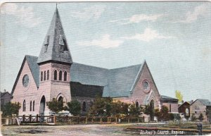 REGINA, Saskatchewan, Canada, 1900-1910's; St. Paul's Anglican Church