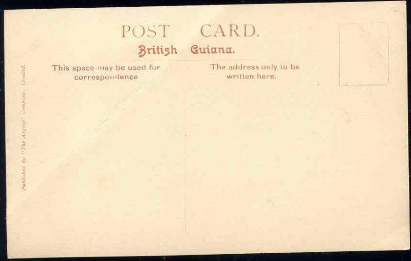 british guiana, GEORGETOWN, Camp Street (1930s) RPPC