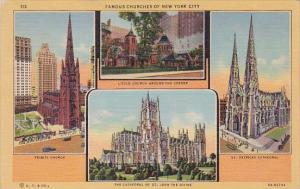 Famous Churches Of New York City New York