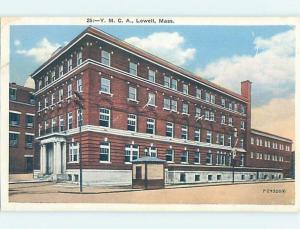 W-Border BUILDING SCENE Lowell Massachusetts MA H6657