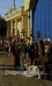 Jesus meets his mother on the way to golgotha Religious Unused
