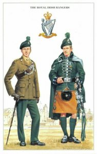 Postcard The British Army Series No.41 The Royal Irish Rangers by Geoff White