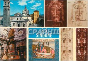 Modern Postcard Torino An Individual Dome of the Shroud The Altar of the Chap...