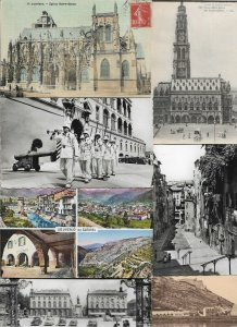 France - Sospel Louviers Le Havre and More Lot of 20 Postcards 01.08