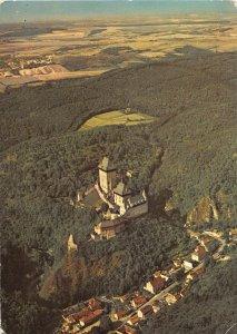 B108480 Czech R. Karlstejn Castle Aerial view, Chateau Burg real photo uk