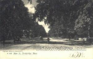 Main ST. Stockbridge MA 1905