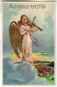 Easter - Angel Playing a Violin