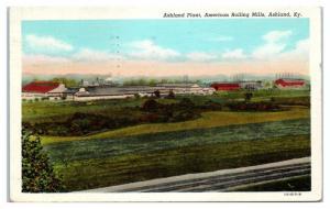 1951 Ashland Plant, American Rolling Mills, Ashland, KY Postcard