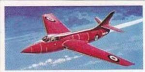 Lyons Tea Vintage Trade Card Wings Of Speed 1961 No 16 Hawker Hunter F Mk 3 G...