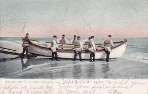 New Jersey Atlantic City Life Boat Crew 1905