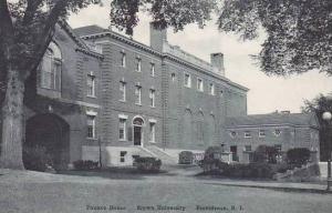 Rhode Island Providence Brown University Faunce House Albertype