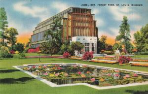 Postcard Jewel Box Forest Park St Louis Missouri