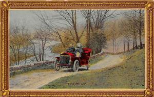 Antique Touring Car, Picture Frame Border