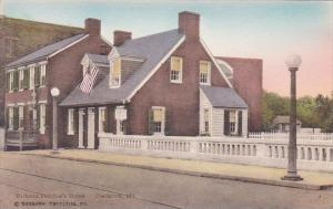 Barbara Fritchie's Home Frederick Maryland Albertype Handcolored