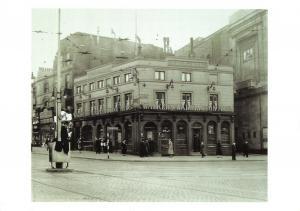 Vintage Reproduction Postcard, 1935 Lime Street, Liverpool 93P