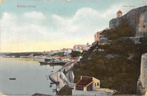 Spain Mahon, Detalle ships coast (Menorca) 1911