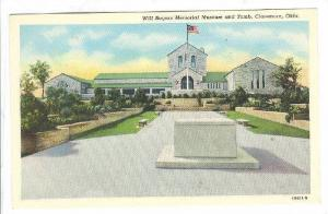Exterior, Will Rogers Memorial Museum and Tomb, Claremore, Oklahoma,  30-40s