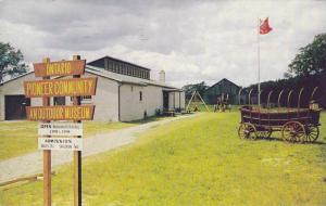 Exterior, Pioneer Community and outdoor Museum,  Ontario,  Canada,  40-60s
