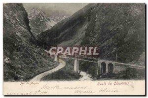 Cauterets Postcard Old Bridge Road Mayaba