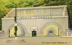 PA - Pittsburgh. Liberty Tunnels