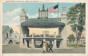 Edgerton Park Band Stand, Rochester, New York - WB