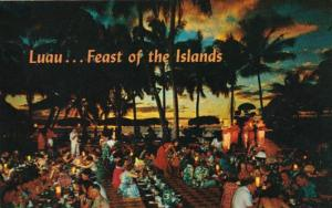 Hawaii Waikiki Queen's Surf Luau Hawaiian Feast