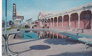 Alamo Plaza Hotel Courts, Swimming Pool, Little Rock, Arkansas, 1940-1960s